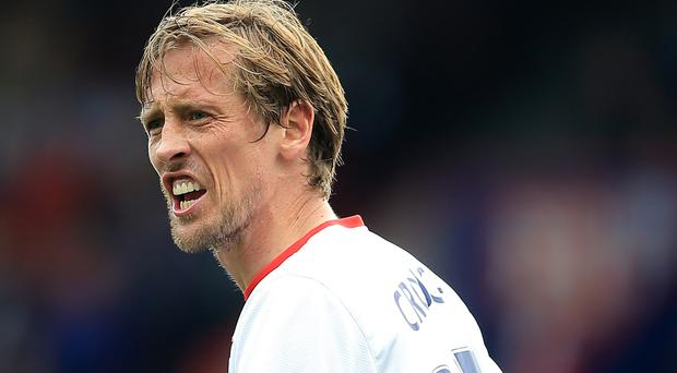 Peter Crouch reluctantly left Tottenham for Stoke five years ago