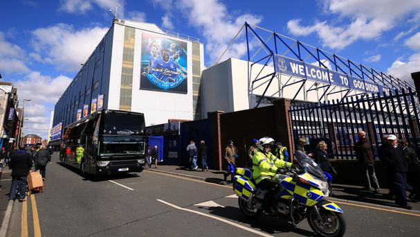 Everton have submitted plans to spruce up Goodison Park this summer