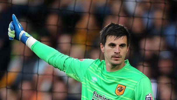 Eldin Jakupovic played a key role for Hull in last month's play-offs
