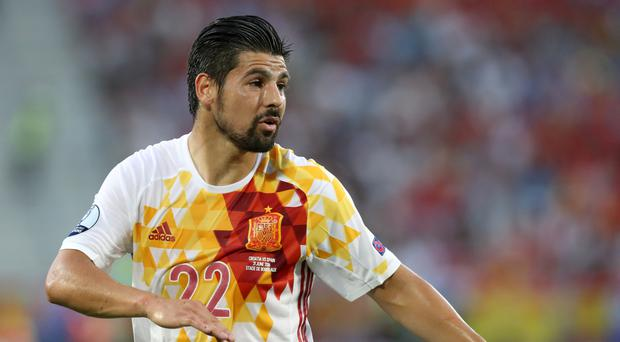 Nolito played for Spain at Euro 2016