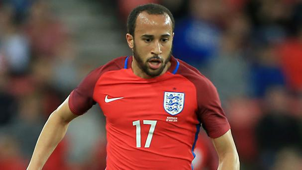 England winger Andros Townsend has joined Crystal Palace