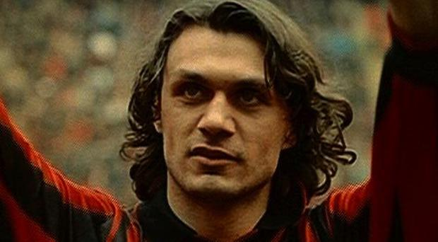 Paolo Maldini spent more than 30 years with AC Milan