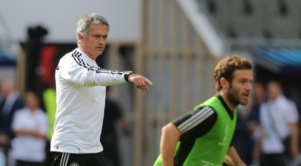 Jose Mourinho's relationship with Juan Mata, pictured right, will be under the microscope at Old Trafford