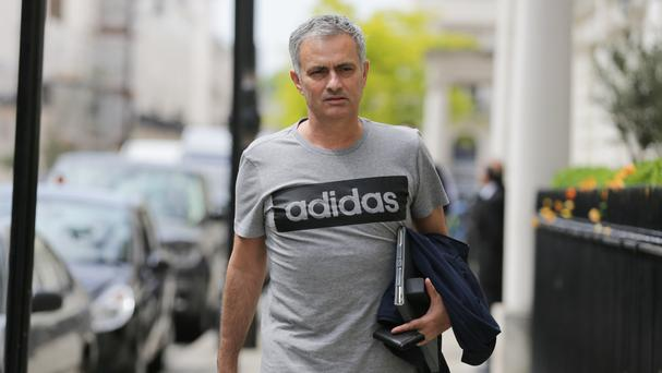 Jose Mourinho has officially begun work as Manchester United manager