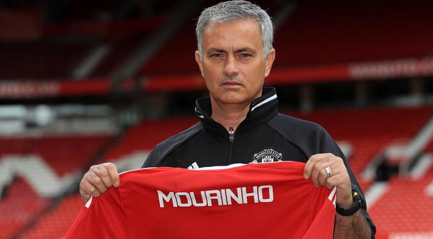 Jose Mourinho was bullish in his first press conference as Manchester United manager