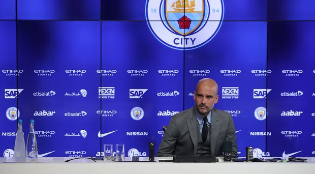 Pep Guardiola spoke on a number of topics at his first Manchester City press conference