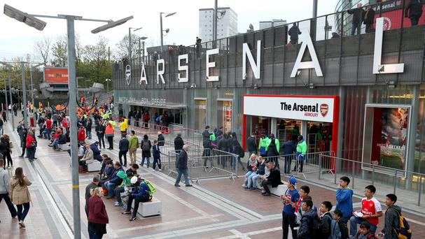 Arsenal have handed an indefinite ban to a supporter found to be posting discriminatory online messages.