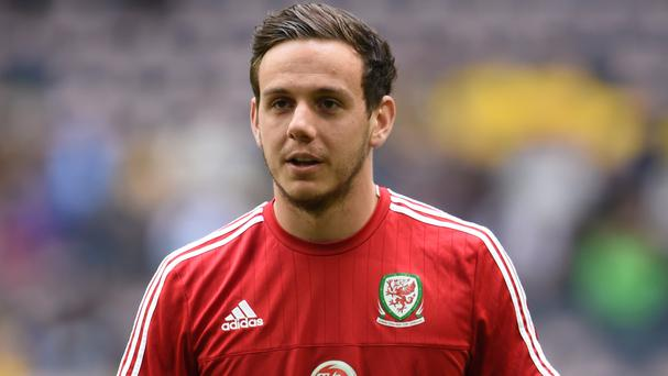 Danny Ward played for Wales at Euro 2016
