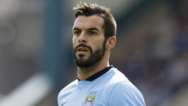 Alvaro Negredo proved a hit while at Manchester City.