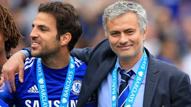 Cesc Fabregas has been linked to a reunion with Jose Mourinho at Manchester United