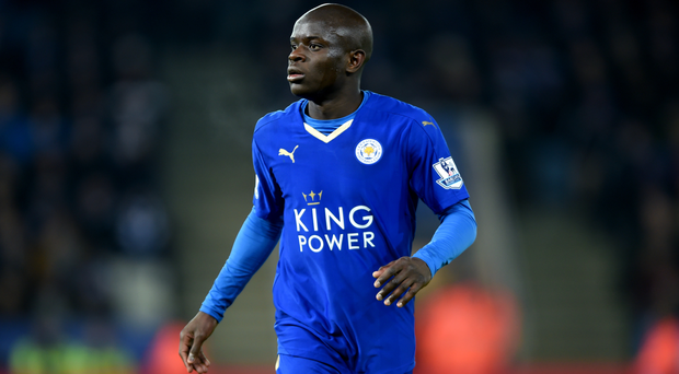 N'Golo Kante has signed for Chelsea