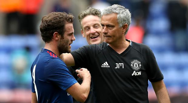 Jose Mourinho took charge of Manchester United for the first time