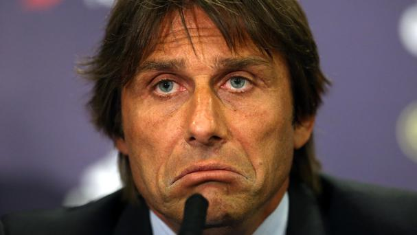 Antonio Conte saw his new Chelsea side lose 2-0 at Rapid Vienna