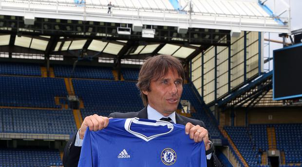 Antonio Conte will take his Chelsea team to Werder Bremen in August