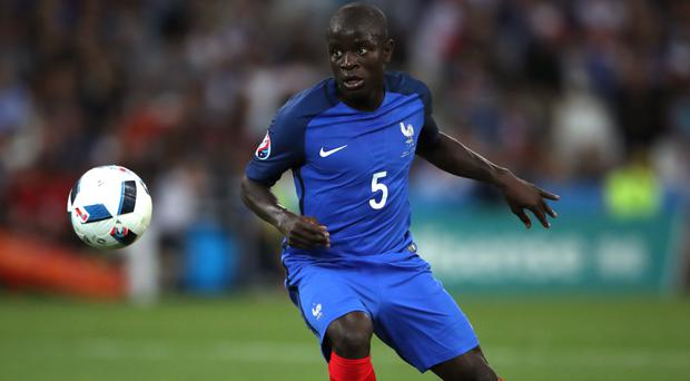 France international N'Golo Kante left Leicester to join Chelsea on Saturday