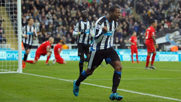 Georginio Wijnaldum is on his way to Anfield