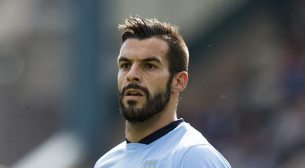Middlesbrough are closing in on former Manchester City striker Alvaro Negredo