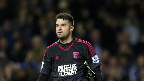 Boaz Myhill now has two years to run on his West Brom deal
