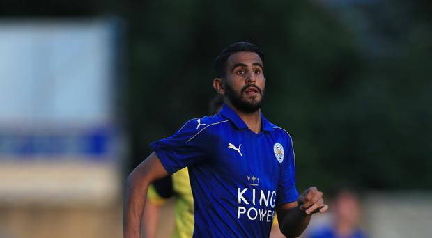 Riyad Mahrez was an influential figure as Leicester won the Premier League title