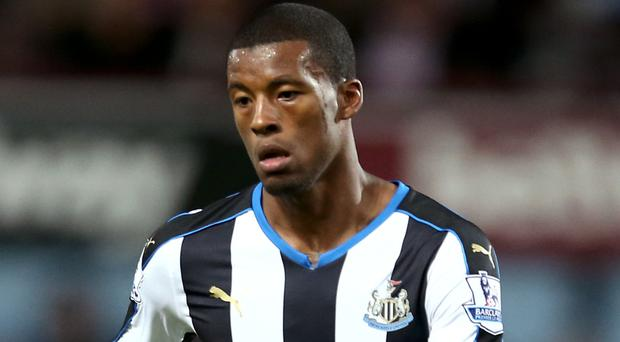 Newcastle midfielder Georginio Wijnaldum is on his way to Liverpool in a £25million deal