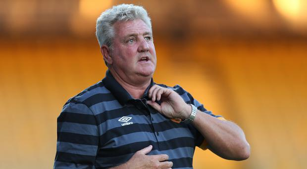 Steve Bruce twice won promotion to the Premier League with Hull