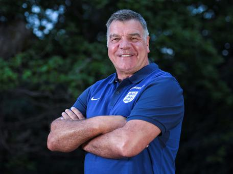 Sam Allardyce will likely be given the freedom to tailor a team devoid of pretence. Photo: PA
