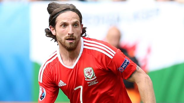 Joe Allen has completed his £13million switch to Stoke from Liverpool