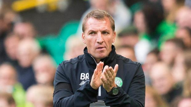 Celtic manager Brendan Rodgers Picture: PA