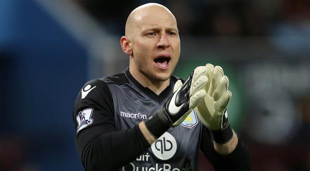 Aston Villa goalkeeper Brad Guzan has joined Middlesbrough