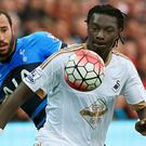 Bafetimbi Gomis, right, has returned to France