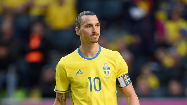 New Manchester United Zlatan Ibrahimovic was quick off the mark as he scored on his debut back in his homeland