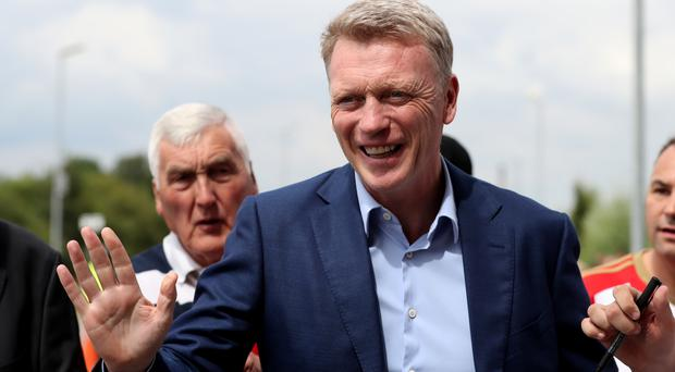 David Moyes held his first press conference as new Sunderland manager on Monday