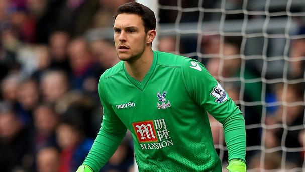 Crystal Palace goalkeeper Alex McCarthy has joined Southampton