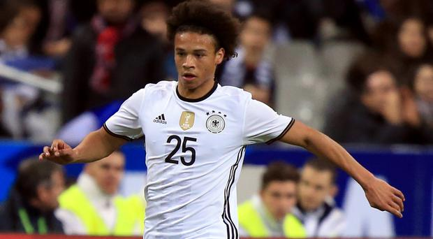 Leroy Sane has completed his move to Manchester City