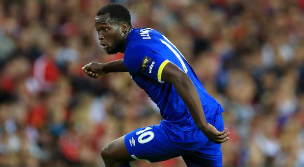Everton's Romelu Lukaku is a reported target for former club Chelsea
