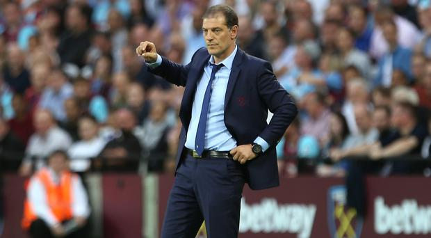West Ham manager Slaven Bilic guided his team into the play-off round for the Europa League