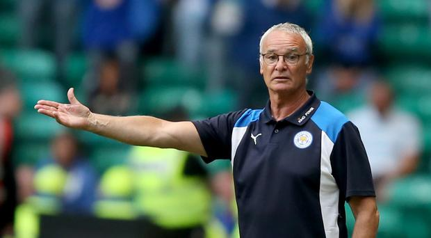 Leicester manager Claudio Ranieri guided the Foxes to the Premier League title last season