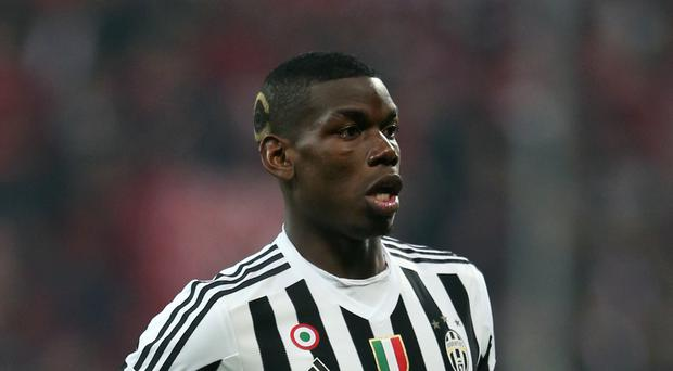 Paul Pogba has been with Juventus since joining them from Manchester United in 2012.