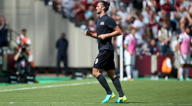 Andy Carroll scored twice in West Ham's friendly against Juventus