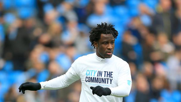 Wilfried Bony could be on his way out of Manchester City