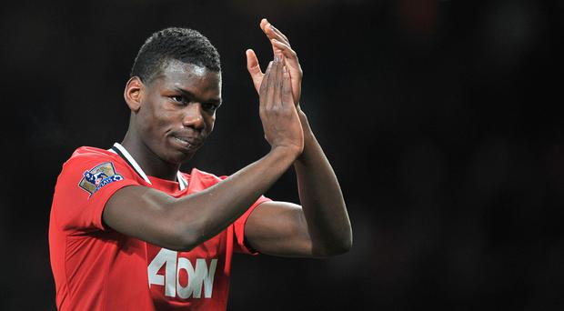 Paul Pogba's first stint at Manchester United was from 2009 to 2012.