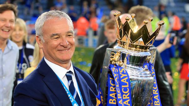Claudio Ranieri stunned the Premier League by winning the title with Leicester last season