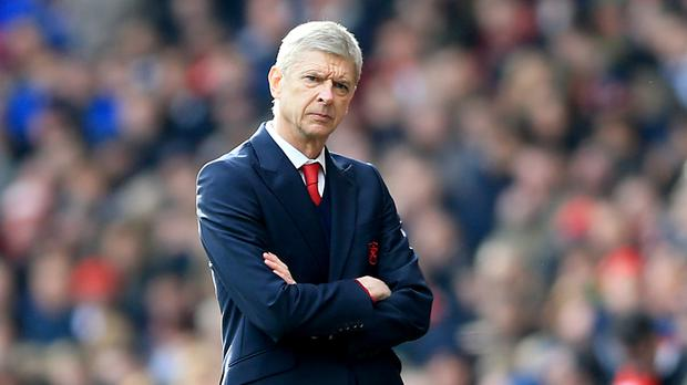 Arsene Wenger saw Arsenal beaten to last season's title by Leicester
