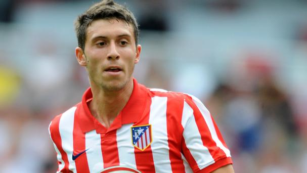 Swansea have signed Atletico Madrid striker Borja Baston for a club-record £15.5million fee