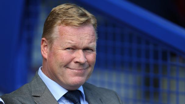 Ronald Koeman was appointed as Everton boss in June