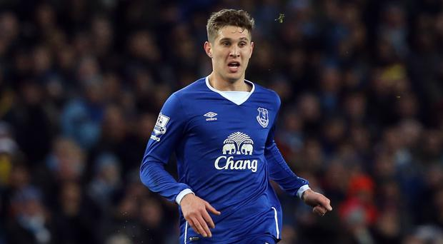 Manchester City manager Pep Guardiola is delighted to have acquired John Stones, pictured, from Everton