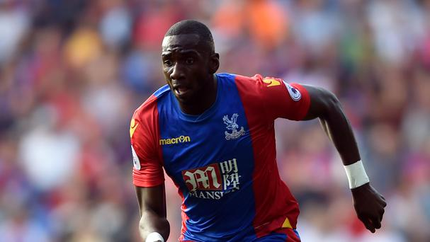 Yannick Bolasie is bound for the Crystal Palace exit door
