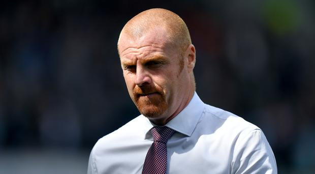Sean Dyche thought Burnley were denied a clear penalty