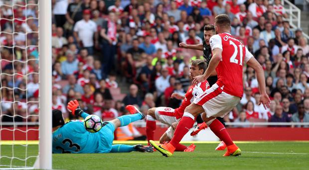 Adam Lallana put Liverpool into a lead they did not relinquish