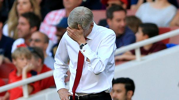 Arsene Wenger's Arsenal were booed off after losing to Liverpool